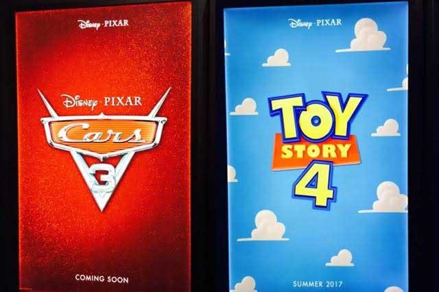 Muestra Disney los primeros posters de sus próximas secuelas