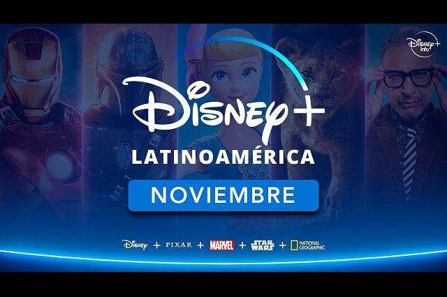 Noviembre de 2020, fecha oficial para llegada de Disney+ a Latinoamérica