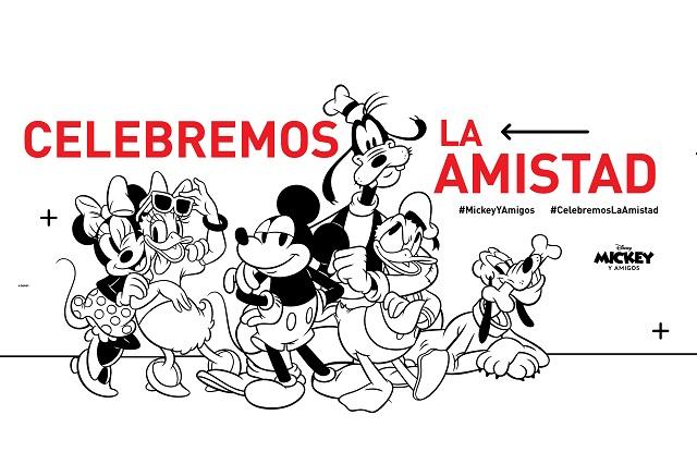 Mickey Mouse y sus Amigos invitan a celebrar la amistad