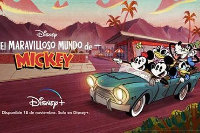 Festejan a Mickey Mouse con estrenos en Disney+