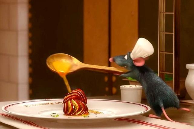 descubren d nde aprendi a cocinar remy el roedor de