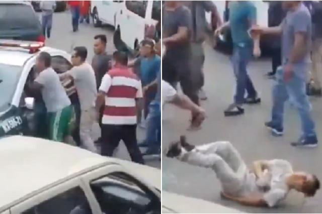 Disparan desde patrulla a manifestante en CDMX