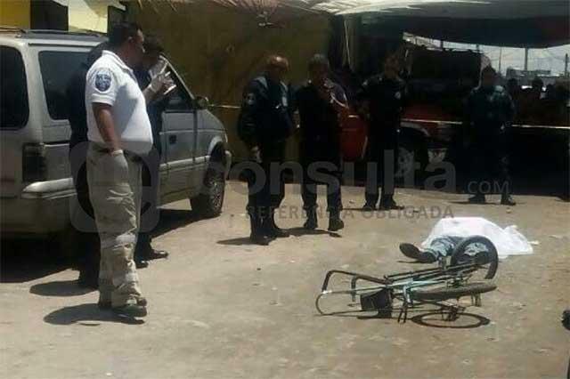 Con dos disparos lo asesinan en tianguis de la Guadalupe Hidalgo