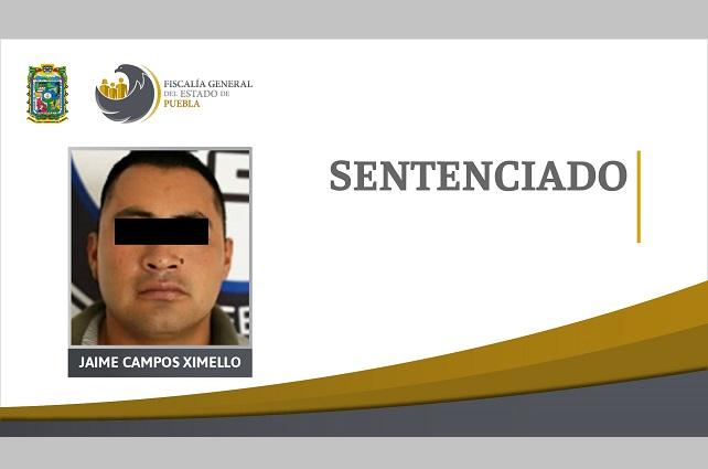 Dan 23 años de cárcel a homicida de Atlixco