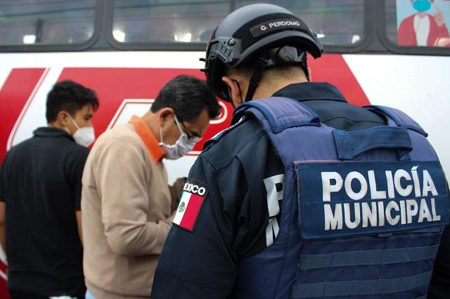 Operativo de seguridad de GN, Tlaxcala y Puebla capital