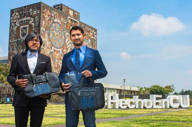 Innovan con cargadores solares para dispositivos móviles