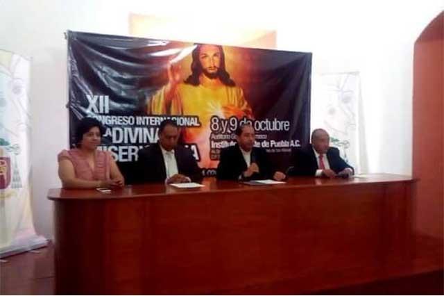 Realizarán XII Congreso Internacional de la Divina Misericordia, en Puebla
