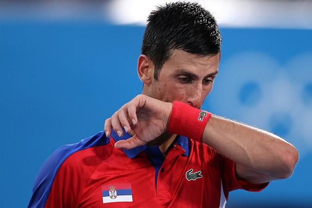 Djokovic le dice adiós al oro y al sueño del 'Golden Slam'