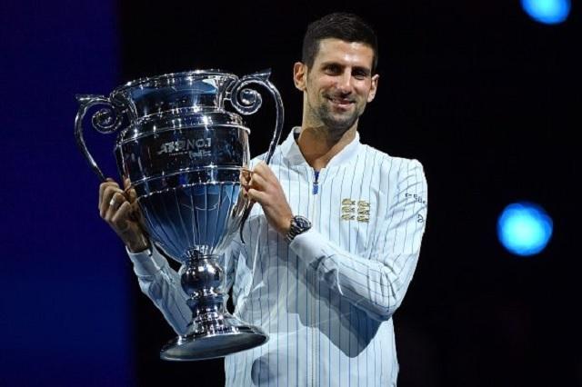 Sexto trofeo para Novak Djokovic como el mejor de la temporada