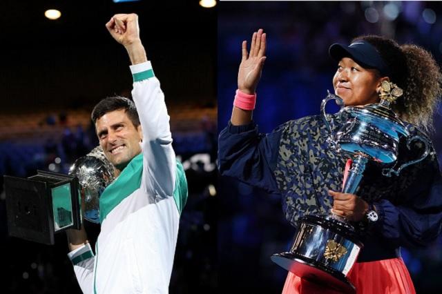 Naomi Osaka y Novak Djokovic conquistan el Australian Open 2021