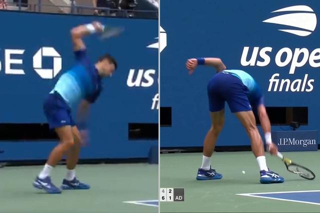 Mal y de malas: multan a Djokovic por romper raqueta en US Open