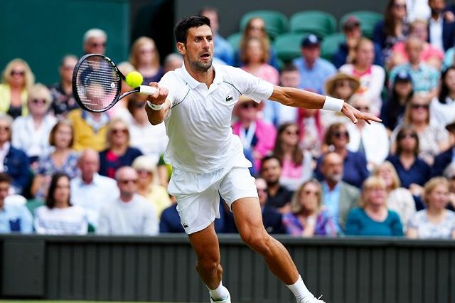 Djokovic arrasa y avanza a semifinales de Wimbledon