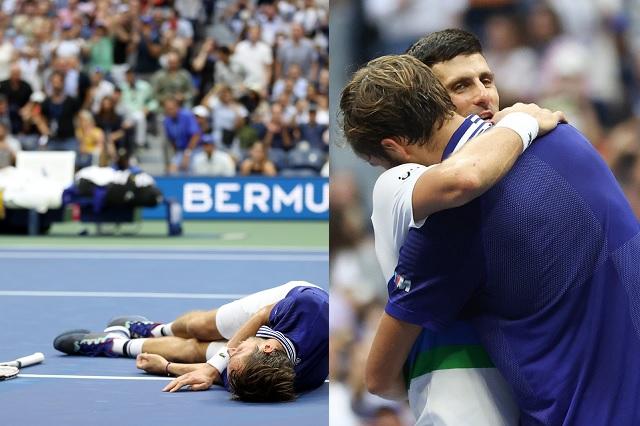US Open: En final histórica, Medvedev derrota a Novak Djokovic