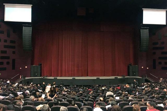 Consejo Universitario de la BUAP concede Teatro CCU para debates