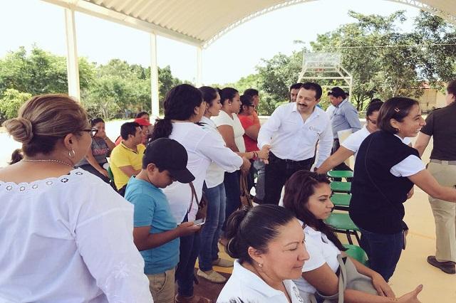 Gali encarga a Eugenio Mora la reconstrucción en Puebla