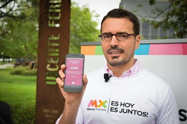 Marco Ferrara aspira ser el primer presidente gay en México