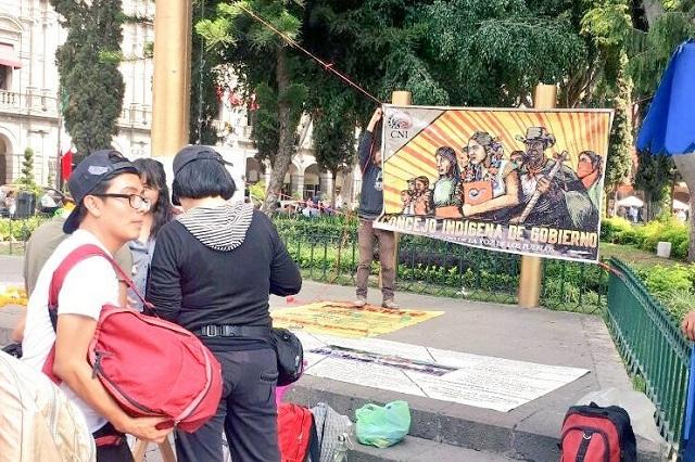 Recaban en Puebla firmas para la candidatura de Marichuy