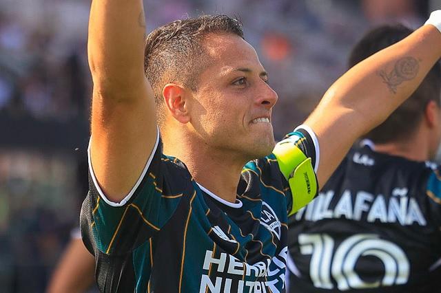 MLS: Doblete de Chicharito le da la victoria a LA Galaxy