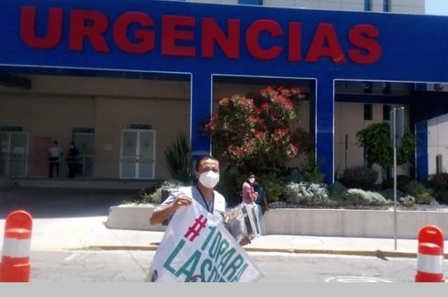 Muere por Covid médico que donaba caretas en IMSS Puebla