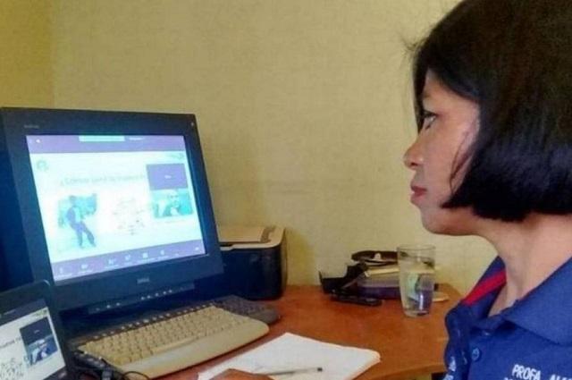 Sigue capacitación de docentes de nuevo ingreso en Puebla