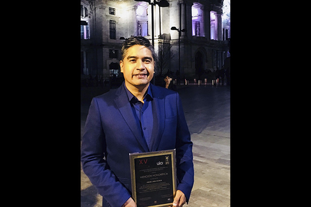 Mención honorífica a egresado BUAP en Bienal de Arquitectura Mexicana