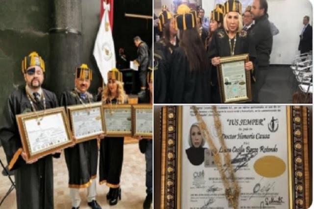 Memes llueven a reporteros que recibieron Doctorado Honoris Causa