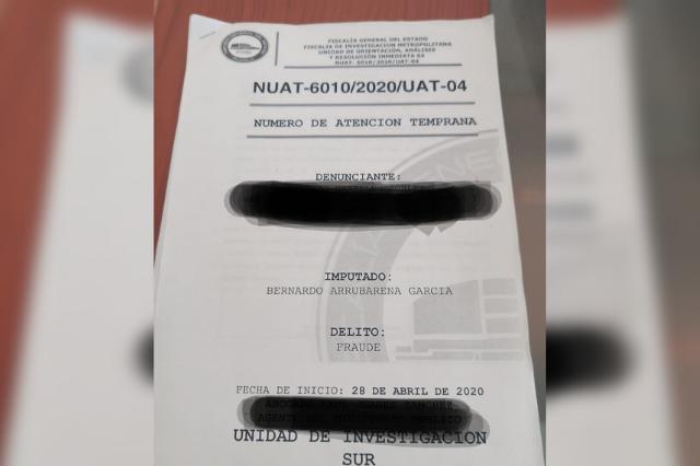 Investigan al panista Bernardo Arrubarrena por presunto fraude