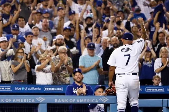 Una mala estrategia le cuesta la victoria a Urías y los Dodgers