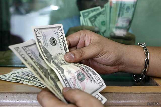 El dólar se vende en promedio en 19.48 pesos en la CDMX
