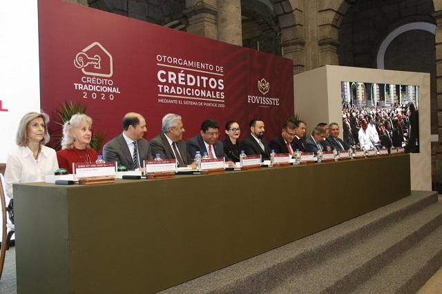 Libera FOVISSSTE 5 mil créditos más por 3 mil 381 millones
