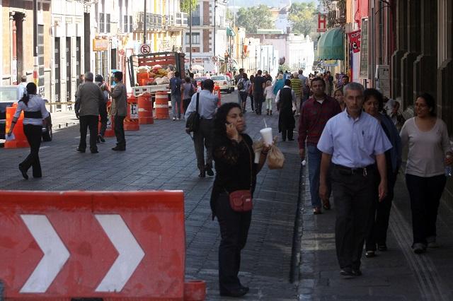 Comerciantes contra nuevas calles peatonales en el Centro Histórico