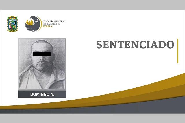 Pagará con 21 años de cárcel homicidio cometido en Atlixco
