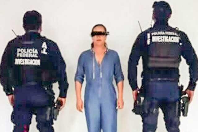 Trasladan a Morelos a Doña Lety, jefa de sicarios atrapada en Puebla