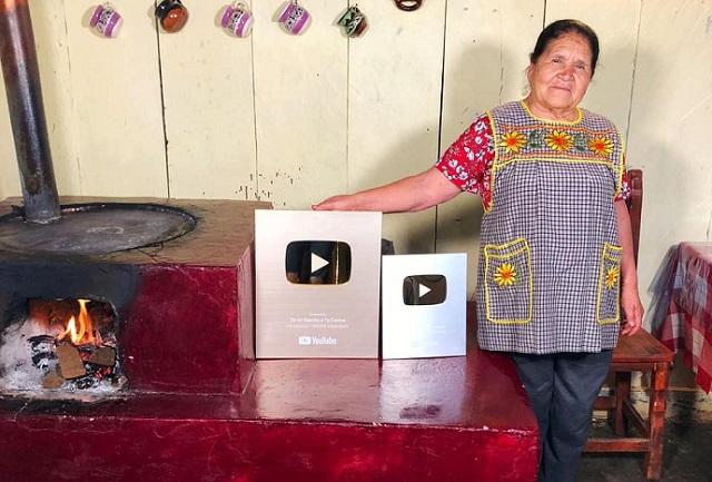 Doña Ángela y su cocina ya tienen 3 millones de seguidores en YouTube