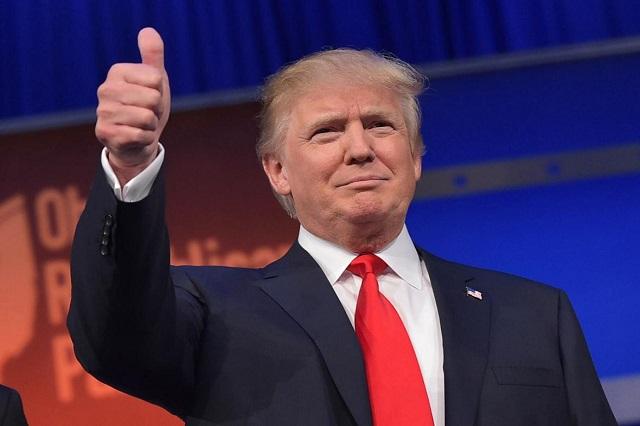 Trump presume logros previo a sus primeros 100 días de gobierno