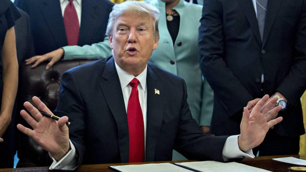 El gobierno de Trump defiende en tribunales el veto migratorio