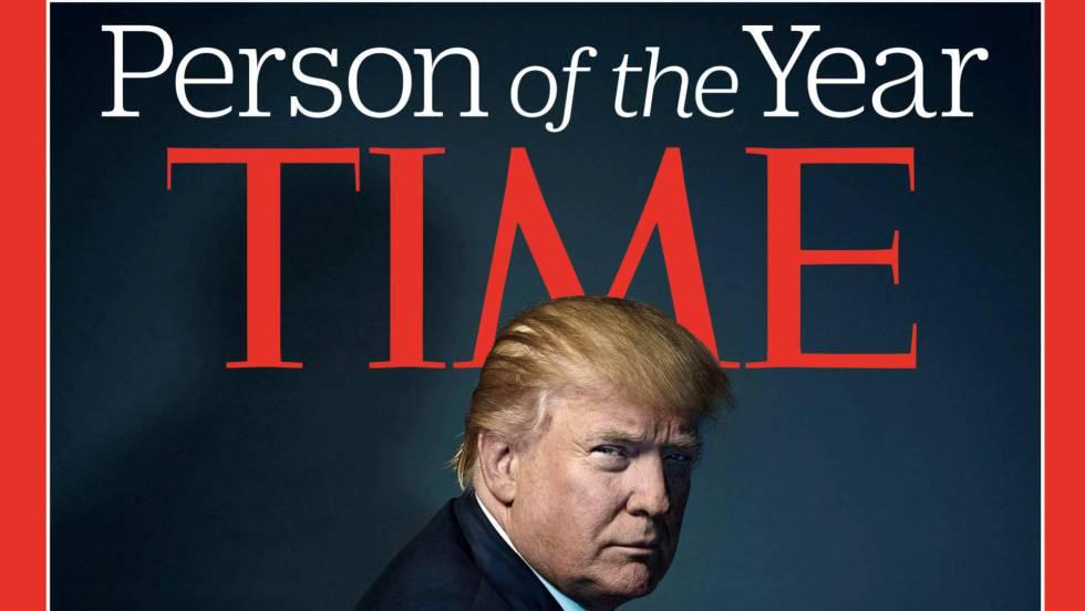 Trump afirma que rechazó ser la Persona del Año de la revista Time