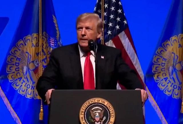Los muros salvan vidas y construiré uno en la frontera, dice Trump
