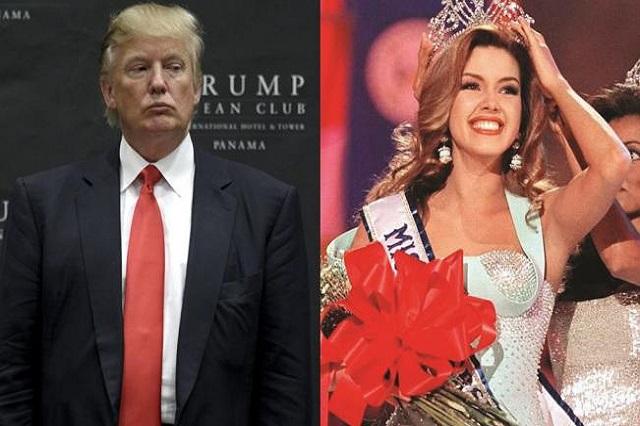 Trump prefiere insultar a Alicia Machado y no hablar del muro con EPN: Hillary