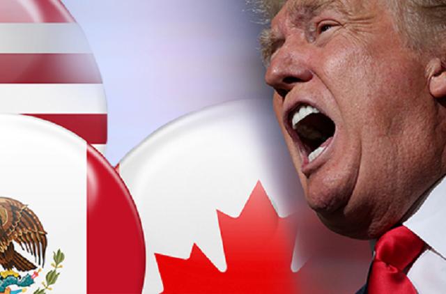 Trump advierte que le hará grandes cambios al TLC o lo eliminará