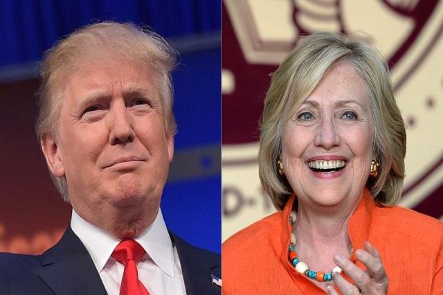 Según encuesta, Donald Trump supera 44% a 39% a Hillary Clinton