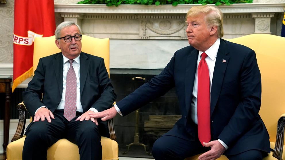 Trump y la Unión Europea acuerdan terminar la guerra comercial