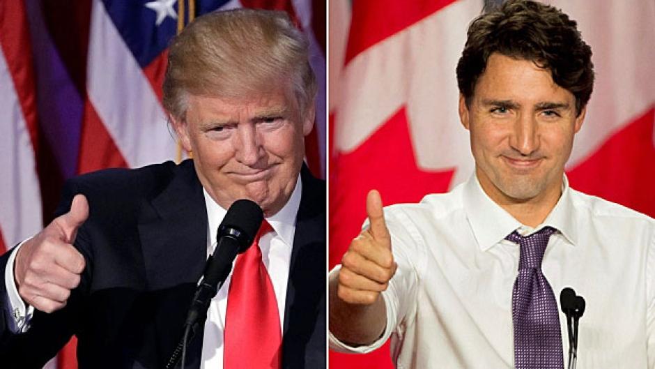 Trump asegura que sólo le dará un retoque al TLC de EU-Canadá