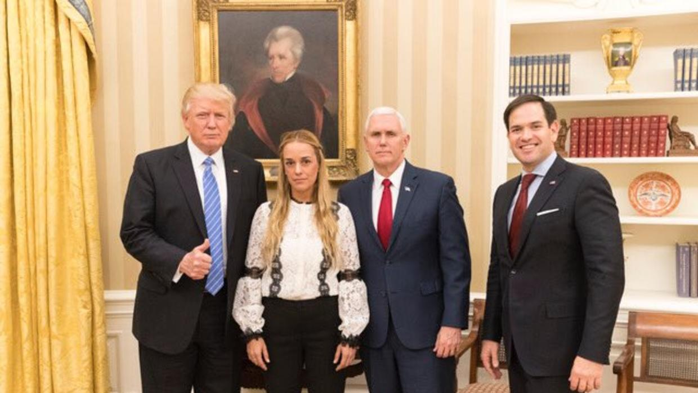 Trump le pide a Venezuela que libere inmediatamente a Leopoldo López