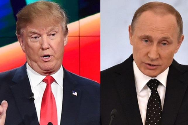 Donald Trump festeja que Putin se burle de Hillary Clinton
