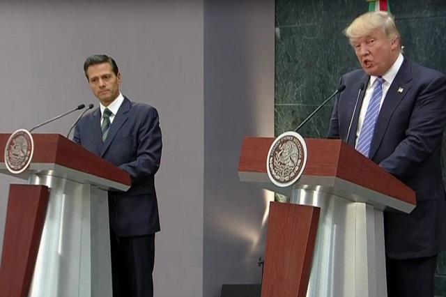 Reunión EPN-Trump sólo en un paso, no resolverá temas de fondo: SRE