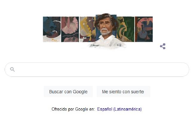 Dedican doodle y rinden homenajes al artista mexicanoFrancisco Toledo