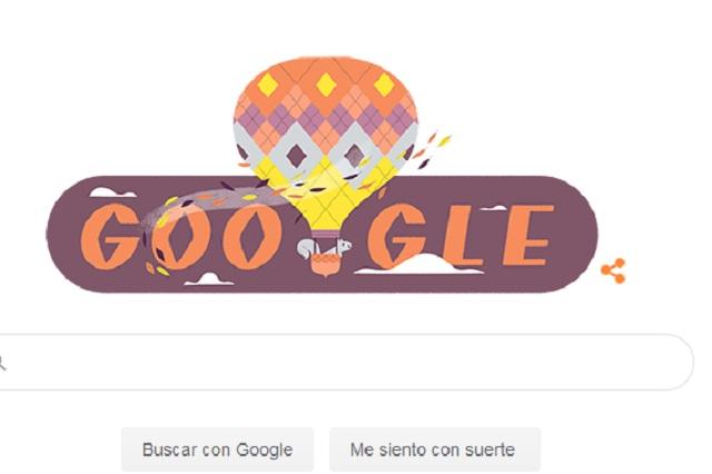 Google le da la bienvenida al otoño con un Doodle