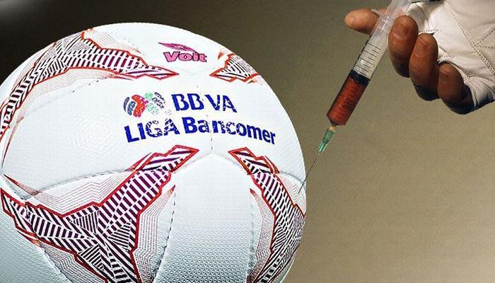 Revelan dopaje en el futbol mexicano