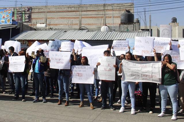 Cumple 2 meses sin aclararse crimen de estudiantes en Huejotzingo